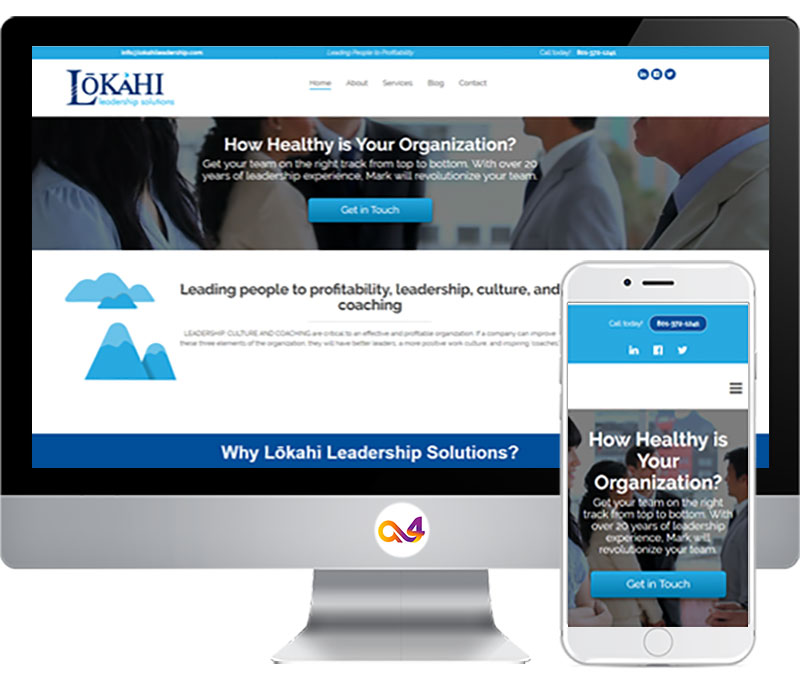 Website Design for Lokahi Leadership
