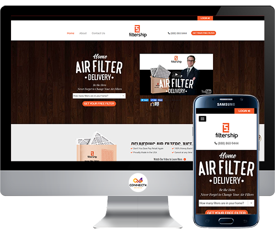 Website Development for Filtership