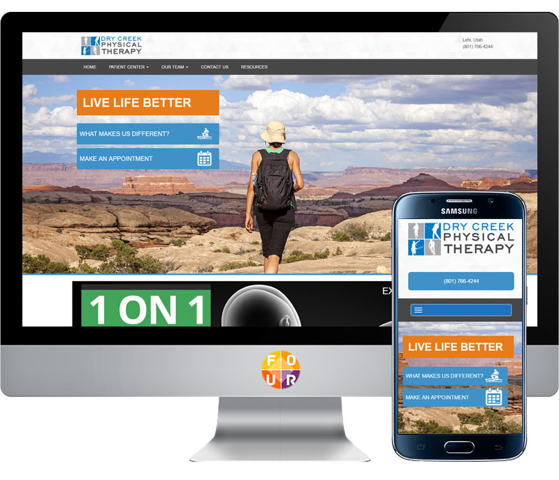 Dry Creek Physical Therapy Website