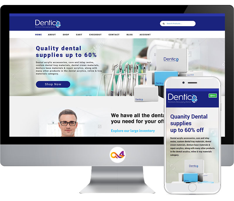 Dentico Website Views