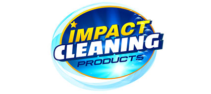 Impact cleaning products logo design
